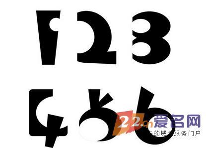 数字55矢量图